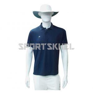 Cenmax Navy Half Sleeves T-Shirt