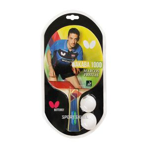 Butterfly Wakaba 1000 Table Tennis Bat With 2 Balls