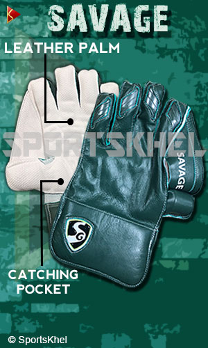 SG Savage Wicket Keeping Gloves Men