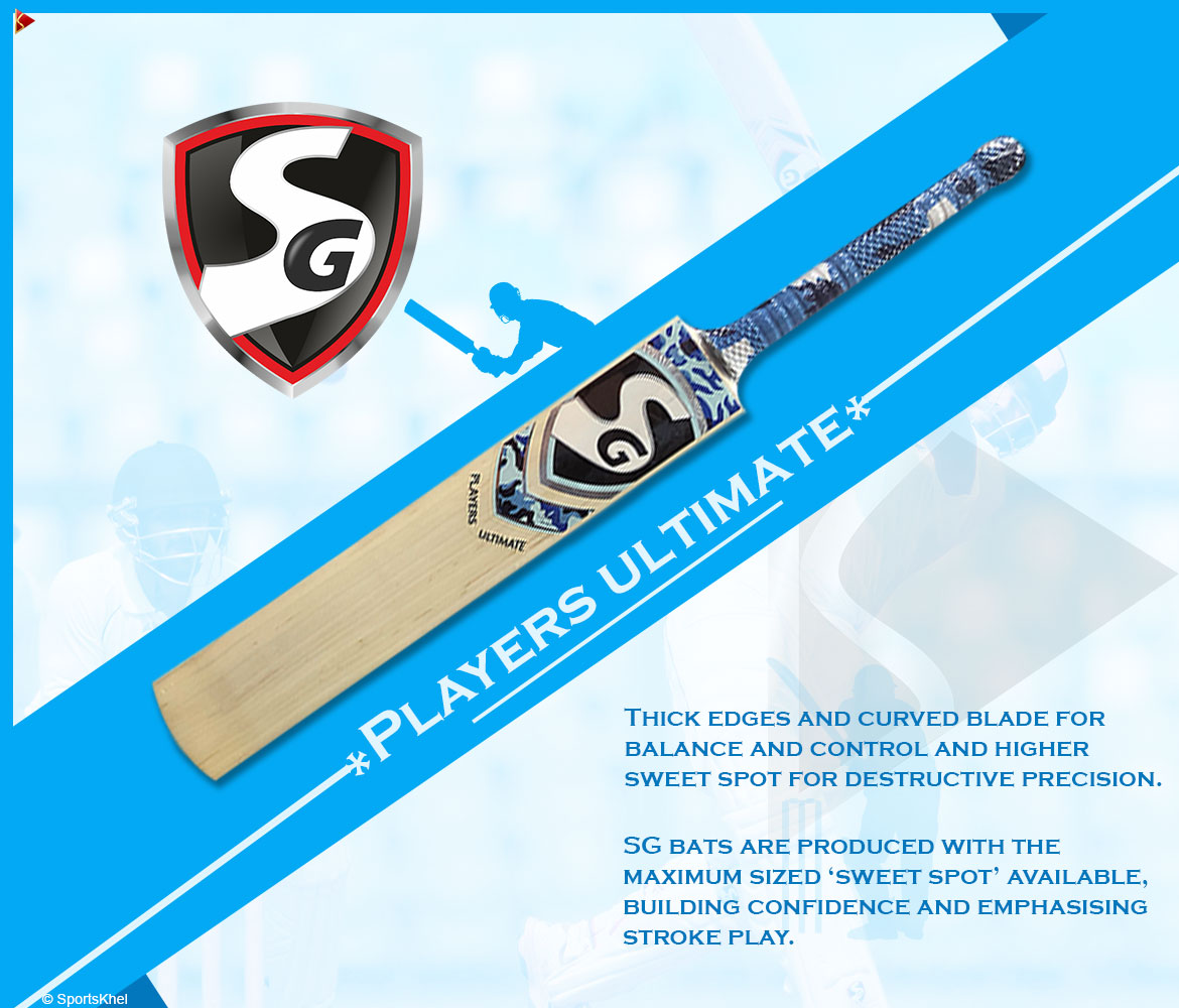 SG Players Ultimate Bat Features 1