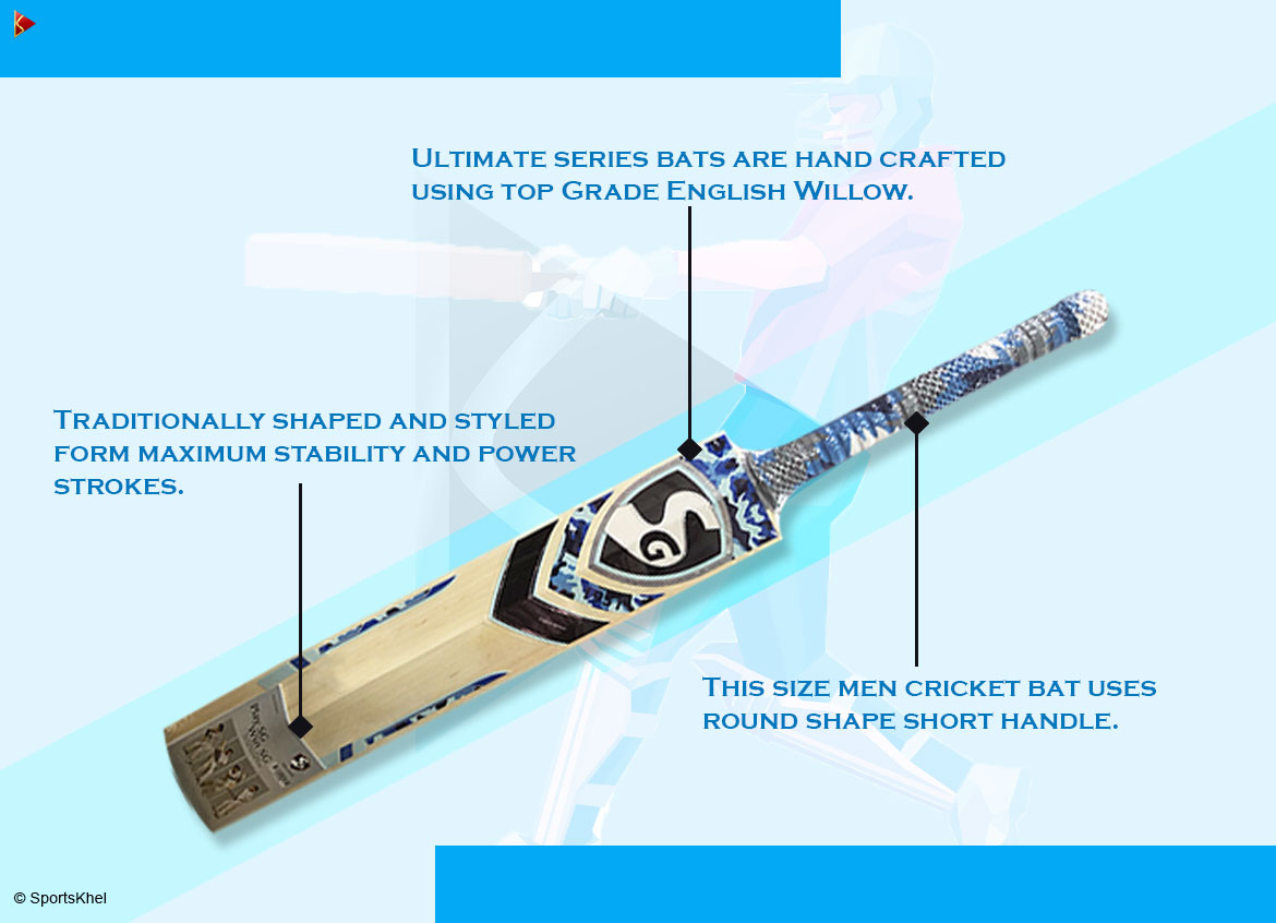 SG Players Ultimate Bat Features 2