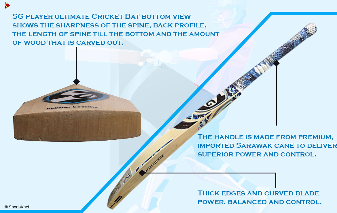 SG Players Ultimate Bat Features 3