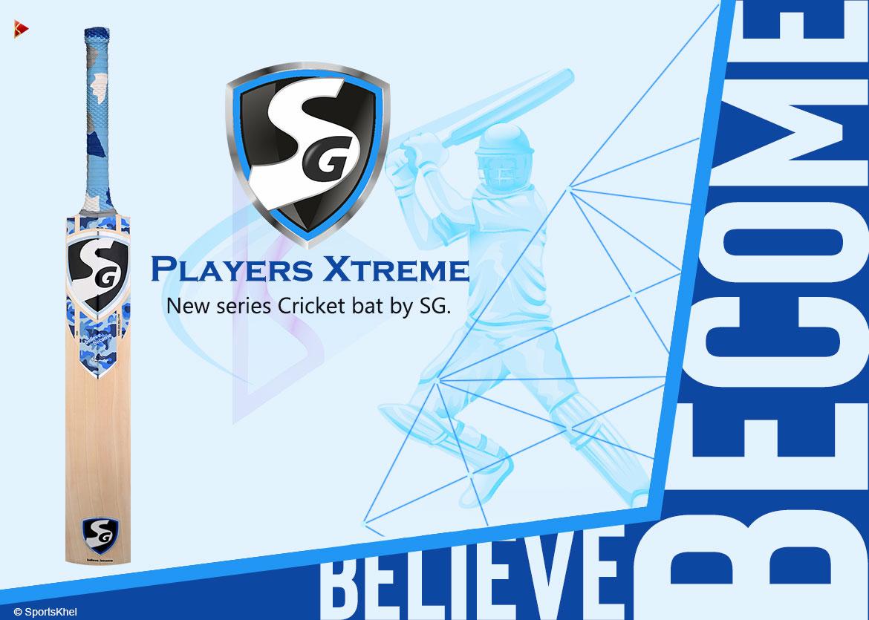 SG Players Xtreme Cricket Bat Features