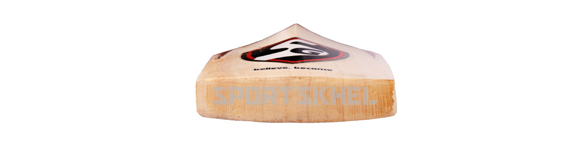 SG Sunny Legend English Willow Cricket Bat Bottom View
