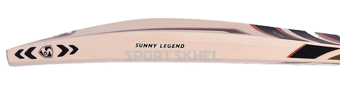 SG Sunny Legend English Willow Cricket Bat Side View