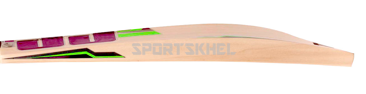 SS Heritage English Willow Cricket Bat Side View