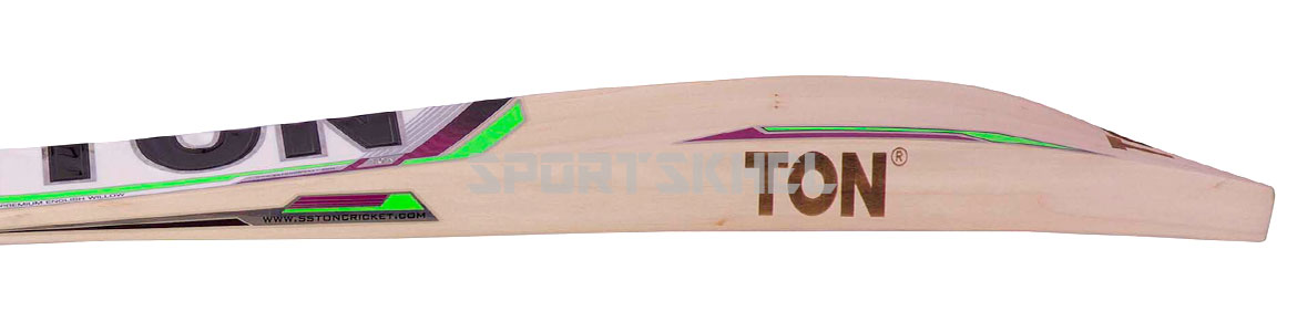 SS Ton Gutsy English Willow Cricket Bat Side View