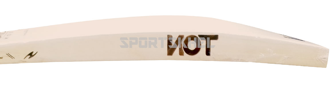 SS Ton Laser Engraved Special Edition English Willow Cricket Bat Side View