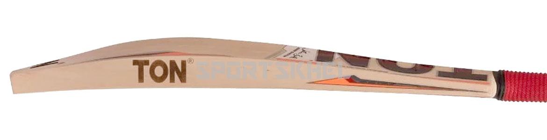 SS Ton Super Cricket Bat Side View