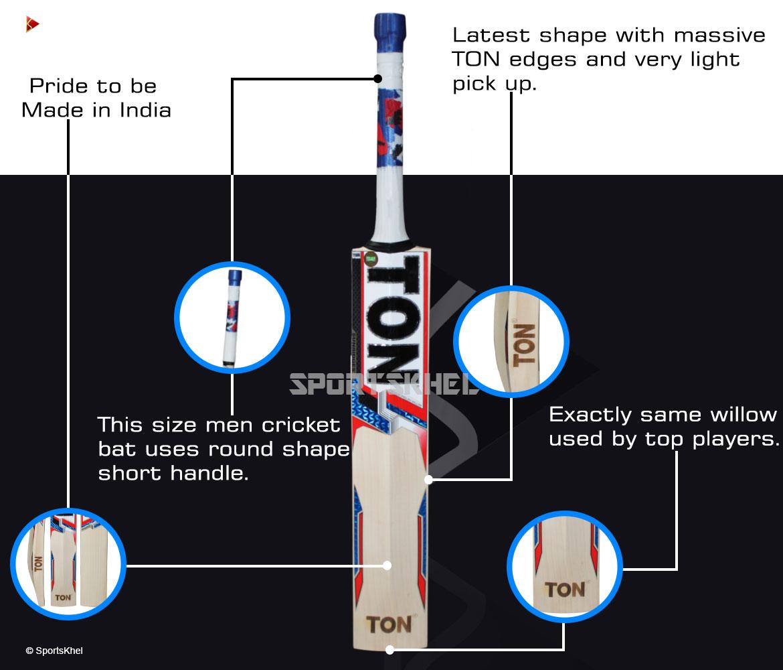 SS Ton Reserve Edition Cricket Bat Features