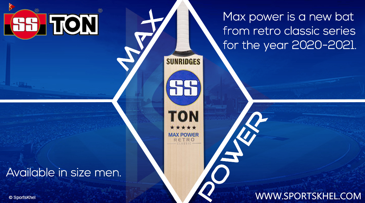 SS Ton Retro Classic Max Power Cricket Bat Features