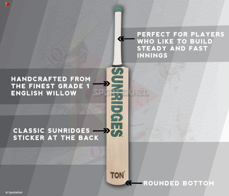 SS Ton Retro Classic Power Plus Cricket Bat Features