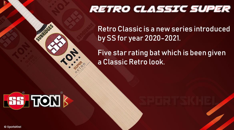 SS Ton Retro Classic Super Bat Features