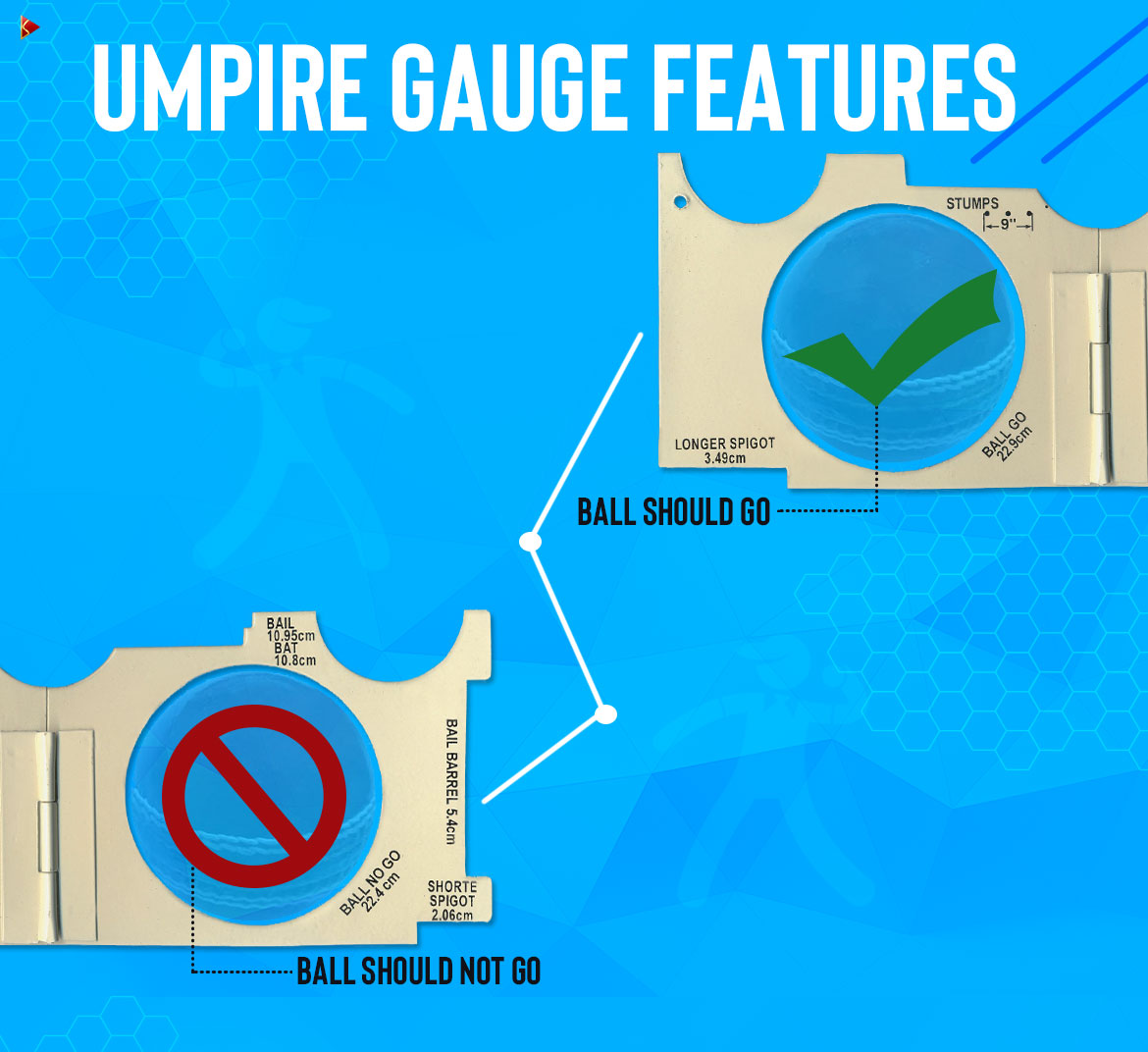 Umpire Gauge Features