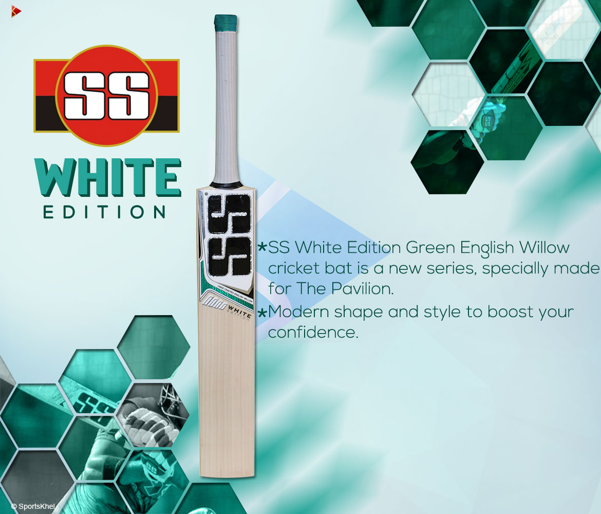 SS White Edition Green Bat Features
