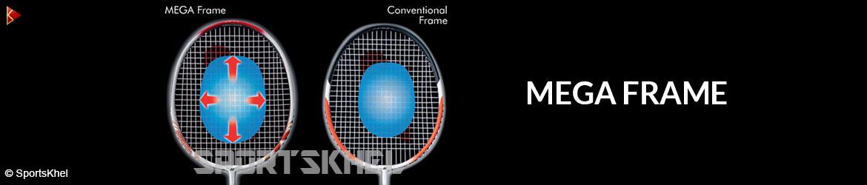 Yonex Arcsaber D5 Badminton Racket Mega Frame