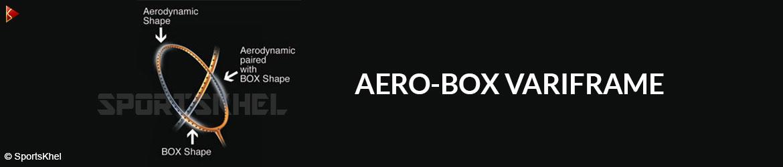 Yonex Arcsaber D8 Badminton Racket Aero-Box Variframe