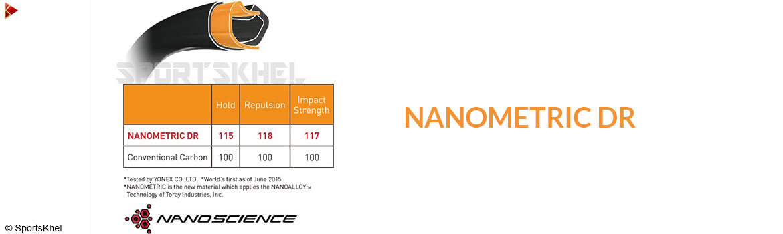 Yonex Duora 10 Badminton Racket Nanometric DR