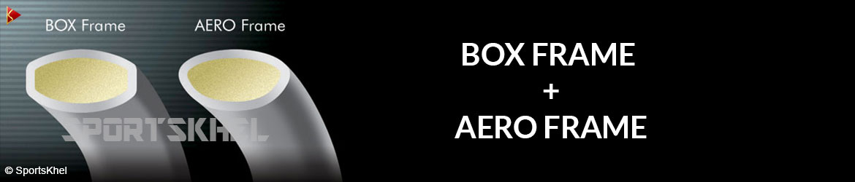 Yonex Duora 77 Badminton Racket Box Frame + Aero Frame
