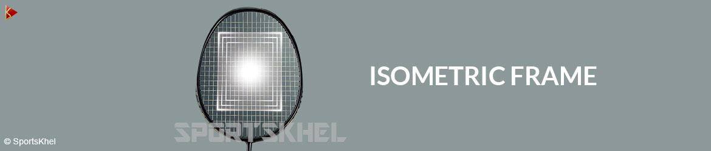 Yonex Nanoray 9 Badminton Racket Isometric Frame