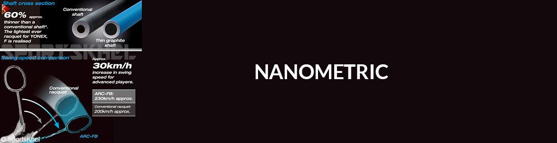 Yonex Nanoray GlanZ Badminton Racket Nanometric
