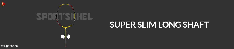 Yonex Nanoray I-Speed Badminton Racket Super Slim Long Shaft