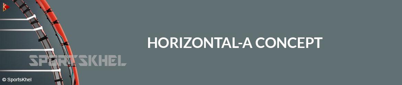 Yonex Nanoray Speed Badminton Racket Horizontal-A Concept