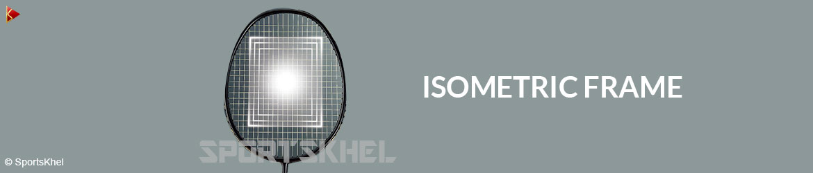 Yonex Nanoray UPLUS 9 Badminton Racket Isometric Frame
